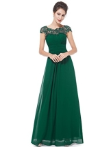 Ever Pretty Damen Ballkleid 16UK Gruen - 1