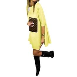 ipretty herbst Damen Kleid A-Line damen kleid elegant Rock Partykleid Cocktaikleid Longsleeve - 1