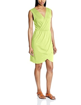 VERO MODA Damen Cocktail Kleid Vmenjoy S/l Wrap Short Dress Ga Mix It, Knielang, Gr. 38 (Herstellergröße: M), Gelb (Sunny Lime) - 1